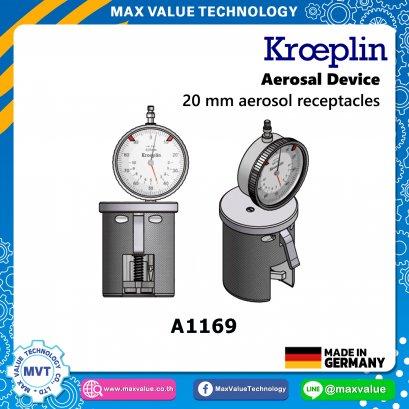 A1169/AE1169 - Aerosol devices - 20 mm aerosol receptacles