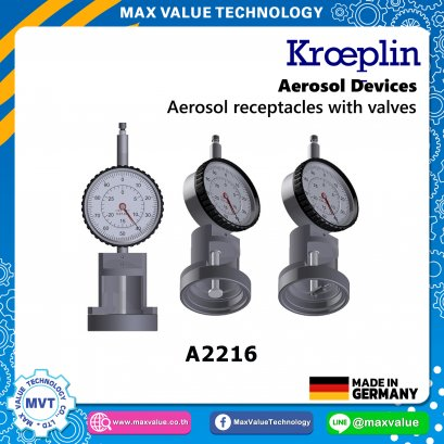 A2216/AE2216 - Aerosol devices - Aerosol receptacles with valves
