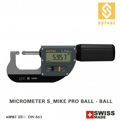 Micrometer S_Mike PRO Spherical