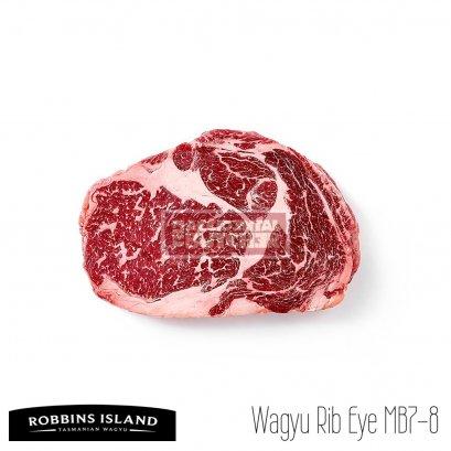 Robbins Island Wagyu Rib Eye MB7-8