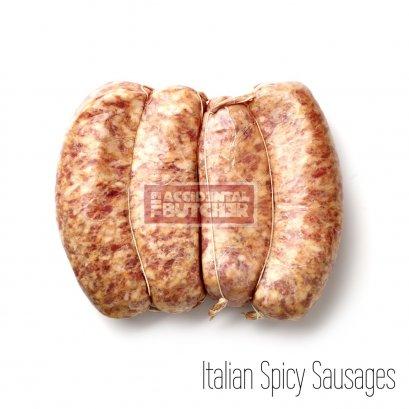 Frozen Italian Spicy Sausage
