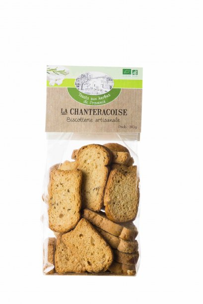 Toast with Provence Herbs
