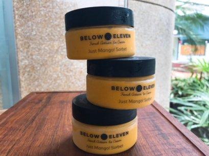 Below Just Mango Sorbet