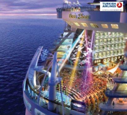 ล่องเรือทะเลเมดิเตอร์เรเนียน Royal Caribbean Oasis of the SEAs 10 วัน -TK