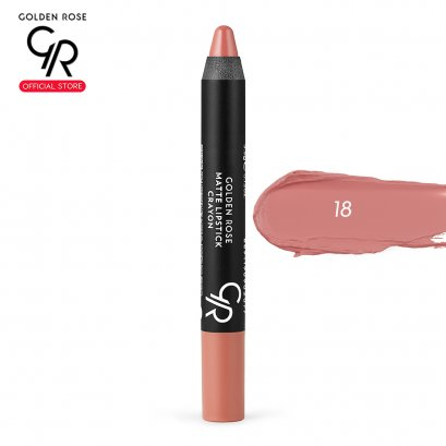 Matte Lipstick Crayon 3.5g เบอร์ 18