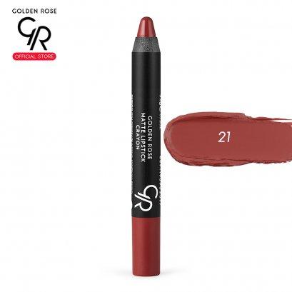 Matte Lipstick Crayon 3.5g เบอร์ 21
