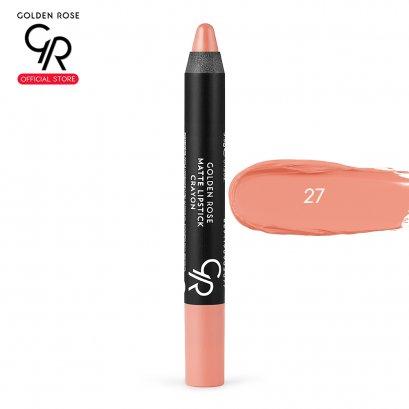 Matte Lipstick Crayon 3.5g เบอร์ 27