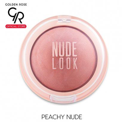 GR Nude Look Face Baked Blusher 4g Peachy