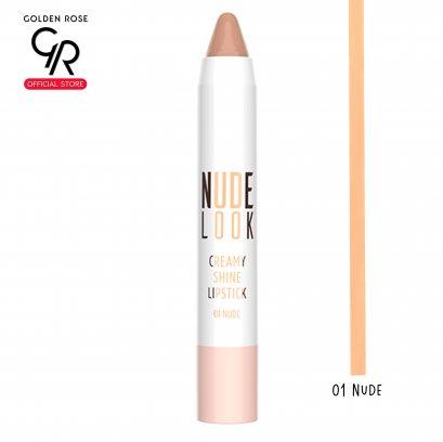 GR Nude Look Creamy Shine Lipstick 3.5g No.01