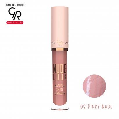 GR Nude Look Natural Shine Lipgloss 4.5g No.02