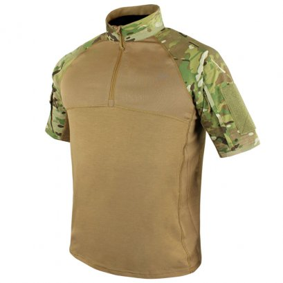 Condor SHORT SLEEVE COMBAT SHIRT WITH MULTICAM