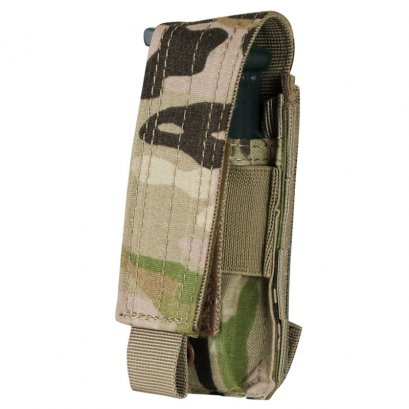 Condor SINGLE PISTOL MAG POUCH WITH MULTICAM