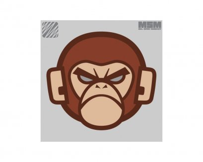 MSM Logo Patch - Monkey Head