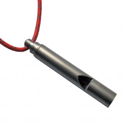 Vargo Titanium Emergency Whistle