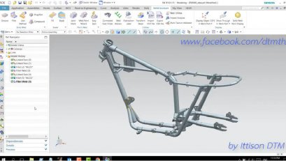 How to create welding line by Fillet Weld in NX11