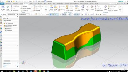How to unfolding sheet metal part by specifying the value of degree, with the Global Shaping command in NX11.0