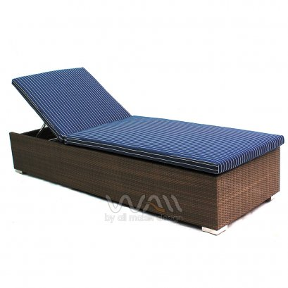เตียงสระน้ำหวายเทียม