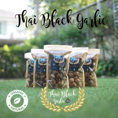 Thai Black Garlic ขนาด 200 กรัม  (บรรจุ 5 ถุง) แถม 100 กรัม