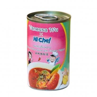 ปลาแมคเคอเรลในซอสหม่าล่าเปรี้ยวหวานMackerel in Sweet and Sour Sauce with Sichuan Pepper 145 g. /  กระป๋อง  2.10 kg. / แพ็ค