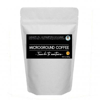 กาแฟ 3 in 1 Microground ธัญพืช