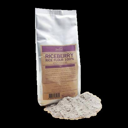 แป้งข้าวไรซ์เบอร์รี่ (Riceberry Rice Flour)