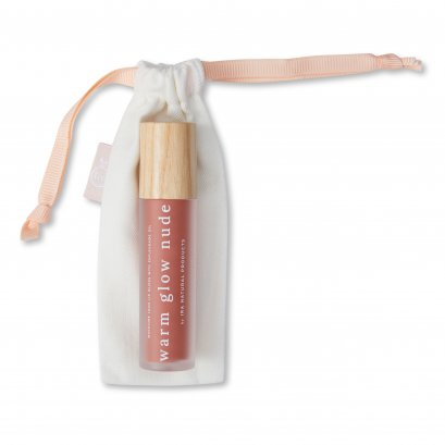 Ira Moisture Lock Lip Gloss with Enfleurage Oil: Warm Glow Nude