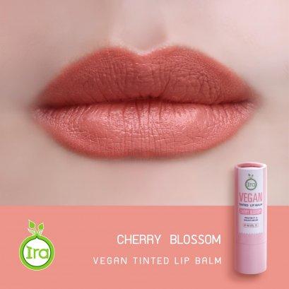 Vegan Tinted Lip Balm: Cherry Blossom