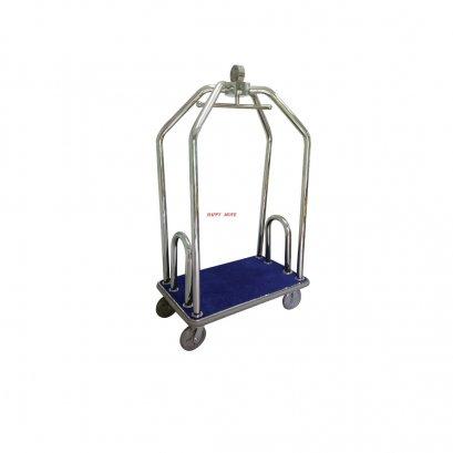00000  รถเข็นกระเป๋าโรงแรมแบบกรงนก(Hi Class Luggage Trolley)