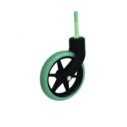 """37151 6""""ลูกล้อวีลส์แชร์สกรูยาว รุ่น Wheel chair ยี่ห้อ PAREO"""