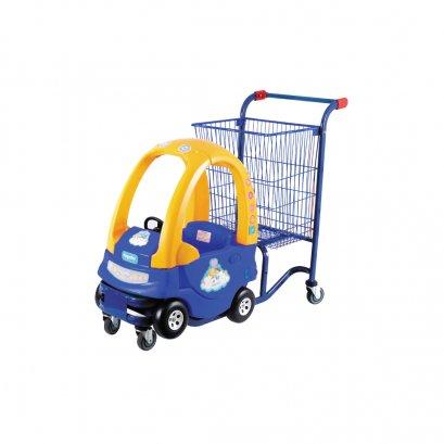 21952  รถเข็นช้อบปิ้งสำหรับเด็กสีน้ำเงิน