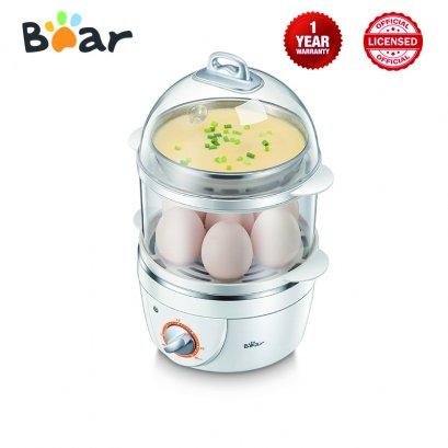 Bear Electric Egg Boiler - BR0002 เครื่องนึ่งไข่ไฟฟ้าอเนกประสงค์ 2 ชั้น