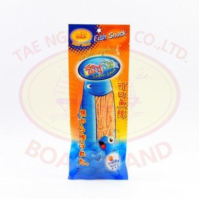 ปลาเส้น รสบาร์บีคิว / Fish snack (BBQ) 50g