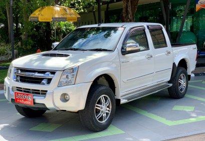 ISUZU D-MAX CAB4 3.0 SUPER PLATINUM HI M/T 2010 สีขาว (LZ0388)