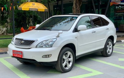 TOYOTA HARRIER 240 G AT 2008 สีขาว (LZ0277)