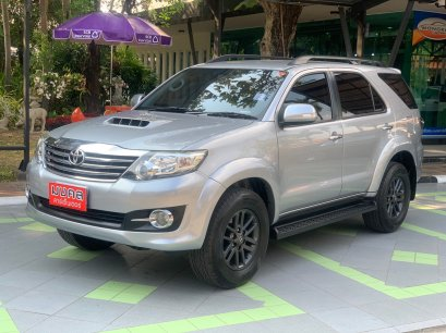 TOYOTA FORTUNER CHAMP 3.0 V A/T 2015 สีเทา (LZ0068)