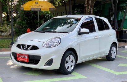 NISSAN MARCH 1.2 E A/T 2018 สีขาว (LZ0482)