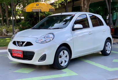 NISSAN MARCH 1.2 E A/T 2018 สีขาว (LZ0480)