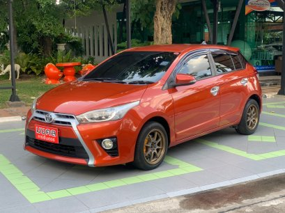 TOYOTA YARIS 1.2 G AT สีส้ม 2014 (MK4143)