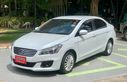 SUZUKI CIAZ 1.2 GL AT สีขาว 2018 (LC003)