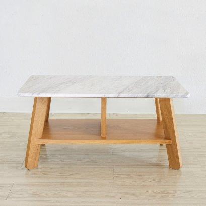 โต๊ะกลางหินอ่อน - Polar Coffee Table (Size S)