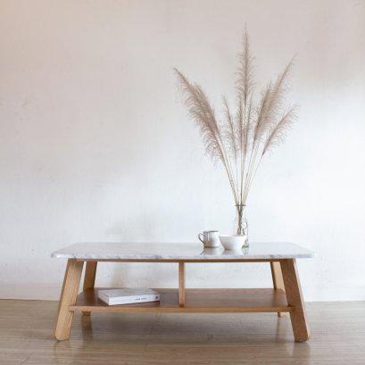 โต๊ะกลางหินอ่อน - Polar Coffee Table