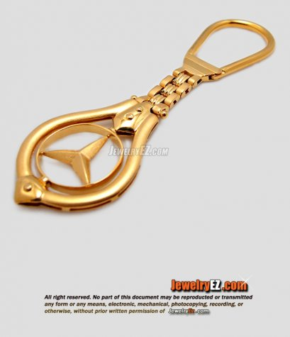 พวงกุญแจ รถเบนซ์ สวยๆ หนัก29.89 กรัม