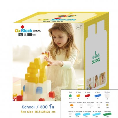 CoBlock School 300 Pcs