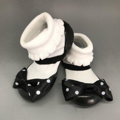 Elisha Black - GGOMOOSIN รองเท้าเด็ก,รองเท้าเด็กหัดเดิน
