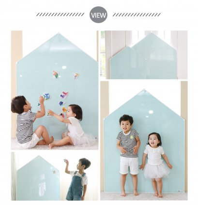 รูปบ้าน Jeje Mignon - Megnetic House Whiteboard สี Pepper Mint
