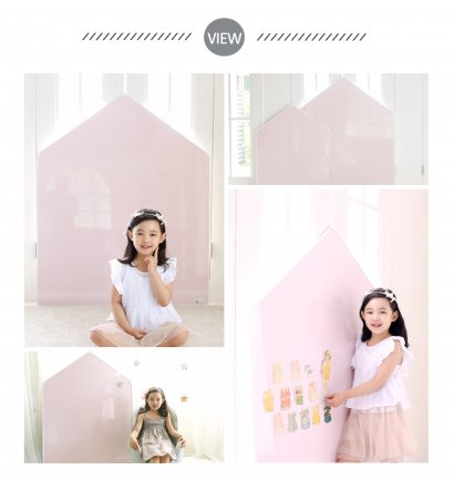 รูปบ้าน Jeje Mignon - Megnetic House Whiteboard สี Power Pink