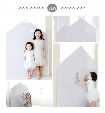 รูปบ้าน Jeje Mignon - Megnetic House Whiteboard สี Warm Gray