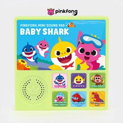 Baby Shark Mini Sound Pad บทเพลงภาษาอังฤษ หนังสือเสียง Pinkfong ลิขสิทธิ์แท้ สื่อการเรียนรู้ หนังสือเด็ก หนังสือเพลง