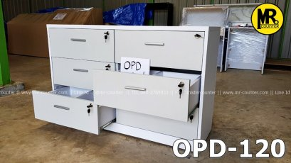 ตู้เก็บ OPD Card ในคลินิก