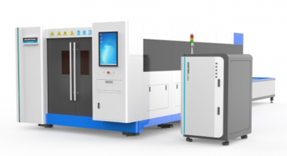FULL COVER FIBER LASER CUTTING MACHINE
